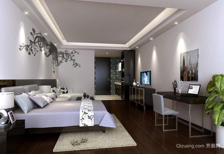 可遇不可求的单身公寓装修效果图