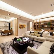 两室一厅简约风格客厅设计
