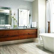 简约木制瓷砖设计