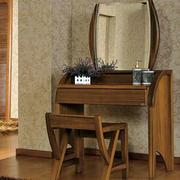 原木材料梳妆台