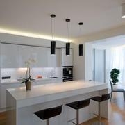 厨房简约灯饰装修