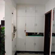 带柜子设计的玄关效果图