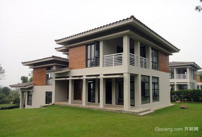 设计复杂的独栋别墅装修效果图