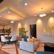 客厅创意吊顶设计