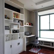简约书房书柜设计