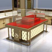 珠宝展览柜玻璃隔断