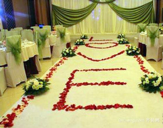 情定三生:给你一世浪漫的婚礼现场布置效果图
