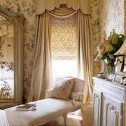 田园风格气质窗帘设计