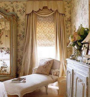 古典欧式别墅窗帘装修效果图展示