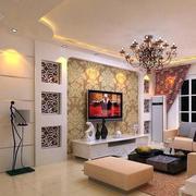 现代简约背景墙设计