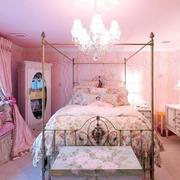 粉色儿童房壁纸设计