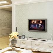 清新浅色电视背景墙设计