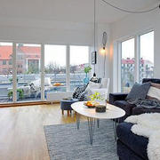 北欧风格阳台隔音窗