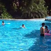 外设游泳馆效果图