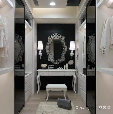 时尚靓丽的三居室大户型梳妆台装修效果图