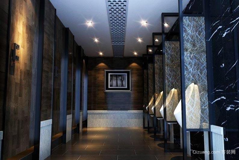 干净整洁的酒店餐厅洗手间装修效果图