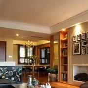 客厅简约照片墙设计