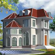 欧式小别墅效果图