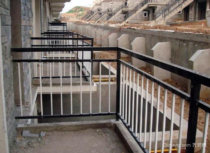 大户型保护安全阳台护栏装修效果图