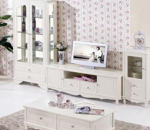 欧式白色电视柜设计