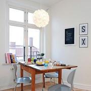北欧简约桌椅装饰