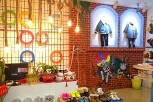 童装店背景墙设计