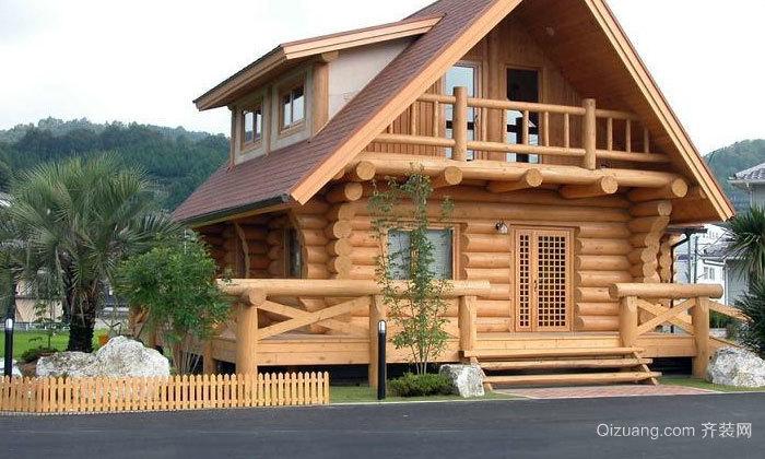 自然香气的木屋别墅装修效果图
