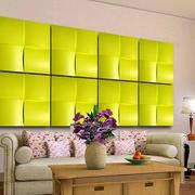 色彩明亮的背景墙设计