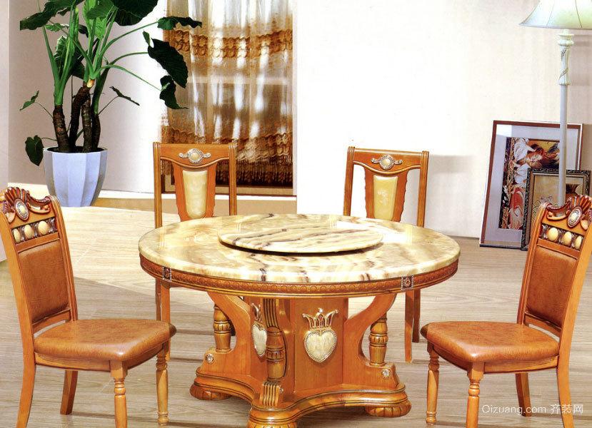 各类地方的高档餐桌装修效果图