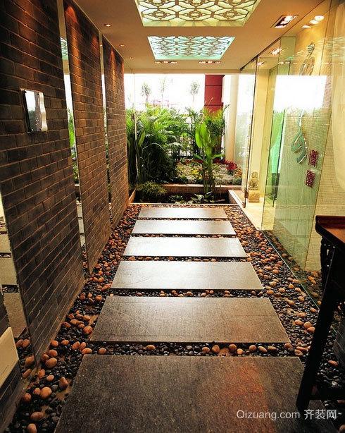 给人美的感受大户型入户花园装修效果图素材大全