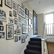 美式楼道照片墙设计