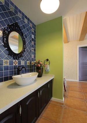 干净清爽卫生间瓷砖背景墙装修效果图素材大全