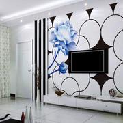 后现代风格电视墙设计
