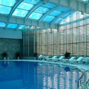 游泳馆环境装修效果图