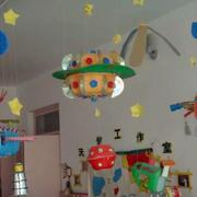 幼儿园吊饰装修