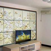 中式风格背景墙装修