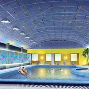 游泳馆游泳池装修