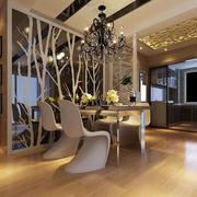 欧式餐厅创意桌椅书架