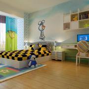 儿童房落地窗设计
