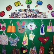 幼儿园环保墙设计