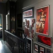美式混搭风格照片墙设计
