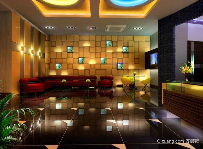 全新欧式奢华装饰的ktv包房设计效果图
