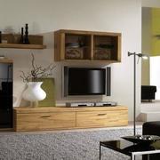 原木电视柜设计