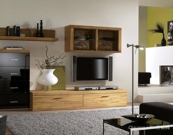 展示个人收藏的客厅电视柜装修效果图