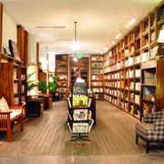 书店桌椅书架