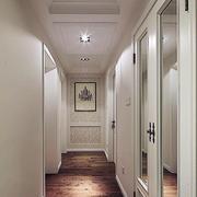 白色简约走廊设计