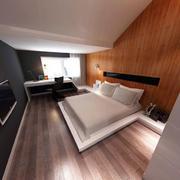 木制现代小房间