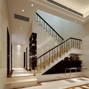 复式楼简约楼梯设计