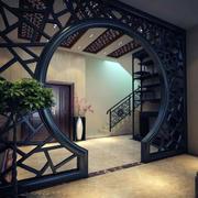 带有拱形门设计的玄关效果图