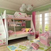 青色儿童房壁纸设计